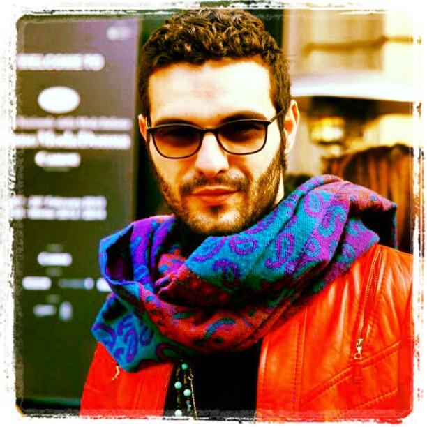 Primo giorno fashion week outifit sciarpa fendi occhiali chanel giubbotto escada collana angela Caputi foto by @nicolabedussi