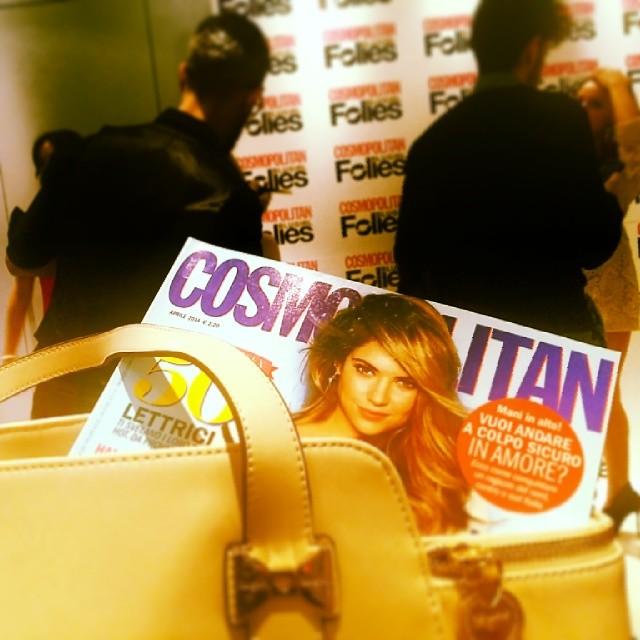 Cosmopolitan and Blugirl @blugirlofficial @cosmopolitan